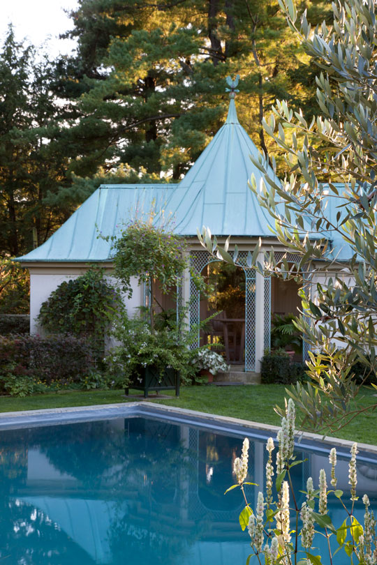 Chanticleer Poolhouse